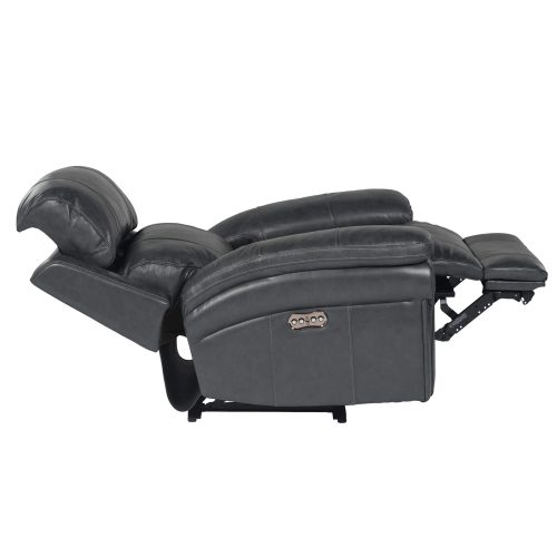 Luxe Collection - Reclining Armchair - side view full recline power headrest forward - SU-9102-94-1394-85