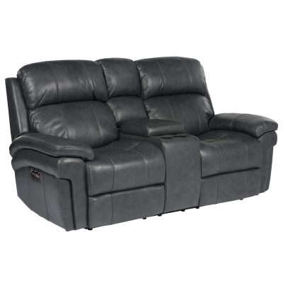 Luxe Collection - Reclining Loveseat - three-quarter view - SU-9102-94-1394-73