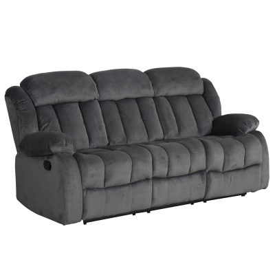 Madison Collection - Reclining sofa - shown in Charcoal - SU-ZY550-305
