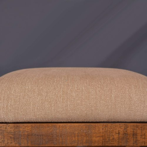 Rustic Collection - Counter height upholstered stool - upholstery detail - HH-8366-024