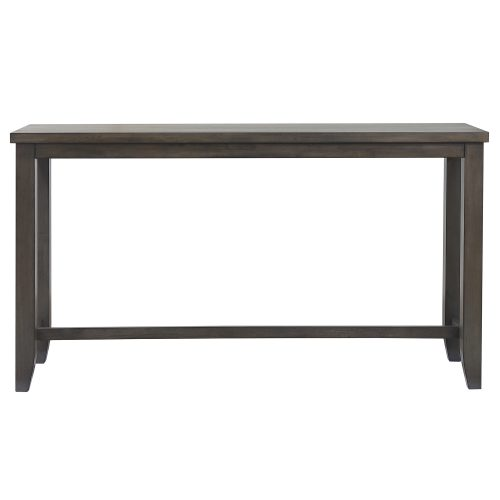Shades of Gray Collection - Pub console table - front view - DLU-EL6518