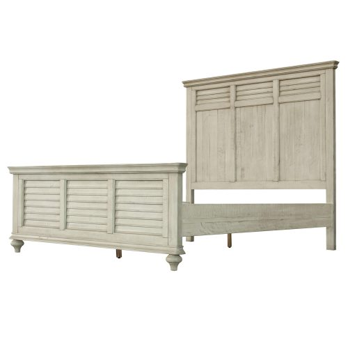 Shades of Sand King size bed - side view - CF-2302-0489-KB