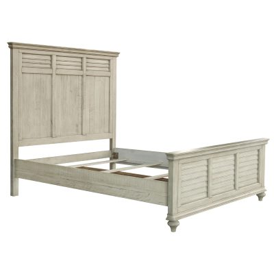 Shades of Sand King size bed - three quarter view - CF-2302-0489-KB