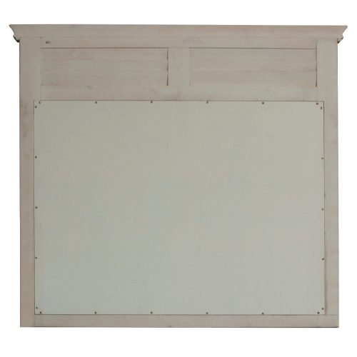 Shades of Sand Shutter Mirror - back view - CF-2334-0489