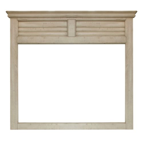 Shades of Sand Shutter Mirror - front view - CF-2334-0489