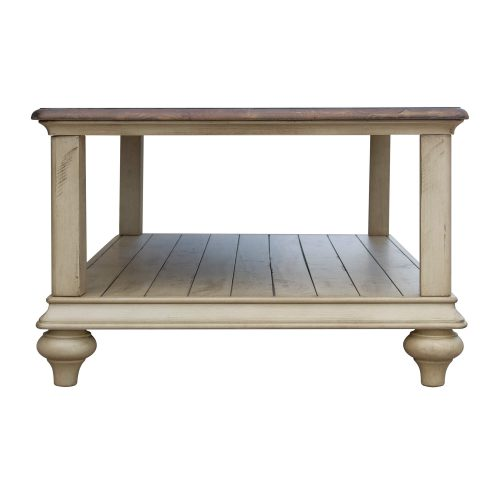 Shades of Sand Storage table - side view - CF-2390-0490