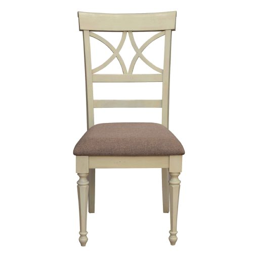 Shades of Sand Vanity chair - front view - CF-2375-0489