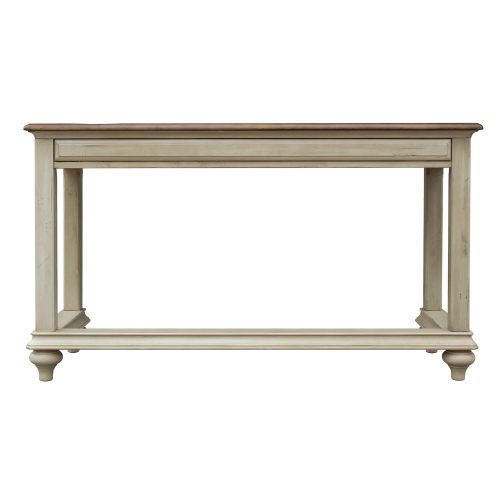 Shades of Sand Vanity table - back view - CF-2386-0490