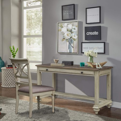 Shades of Sand vanity table and chair CF-2375-0489