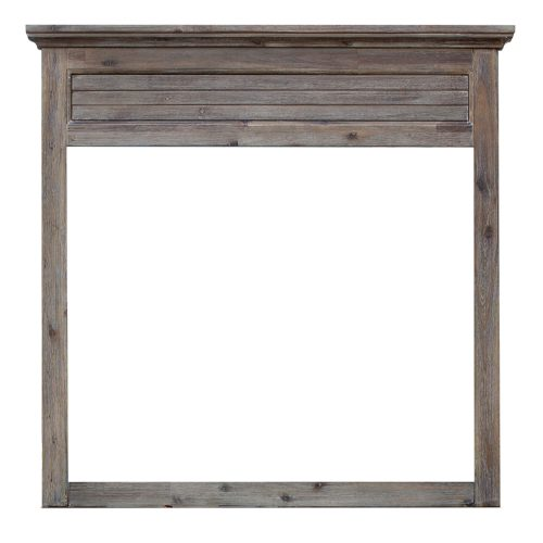 Solstice Gray Collection - Bedroom Mirror - Front view - CF-3034-0441