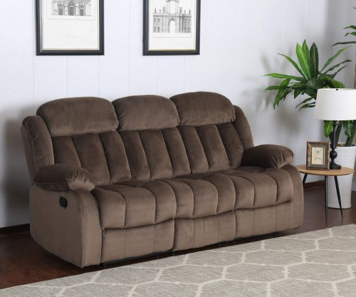 Teddy Bear Collection - Reclining sofa - living room setting three-quarter view - SU-ZY660-305