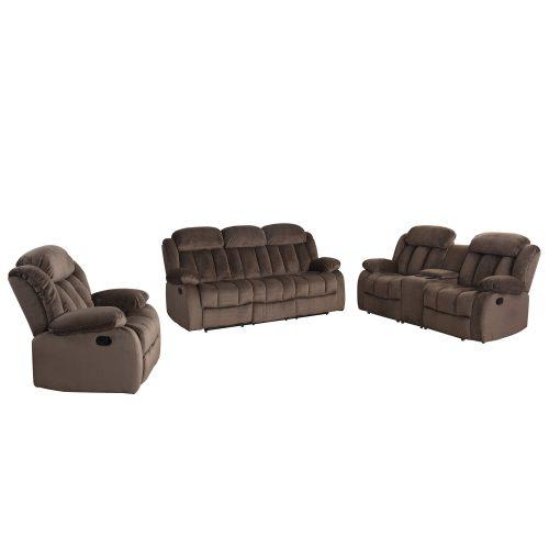 Teddy Bear Collection - Reclining sofa - loveseat- armchair - SU-LN660-3PCSET