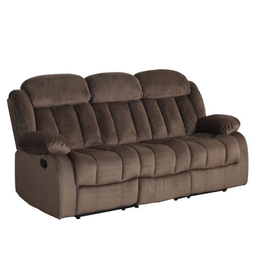 Teddy Bear Collection - Reclining sofa - three-quarter view - SU-ZY660-305