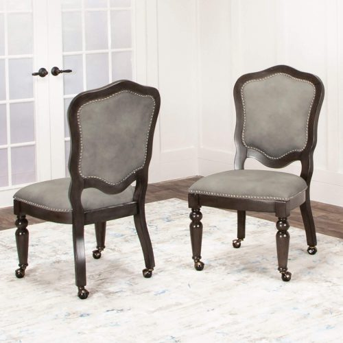 Vegas Collection Matching game chairs in room setting - CR-87711