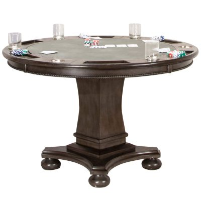 Vegas Collection Poker Table - Poker side ajdusted height CR-87711-TCB
