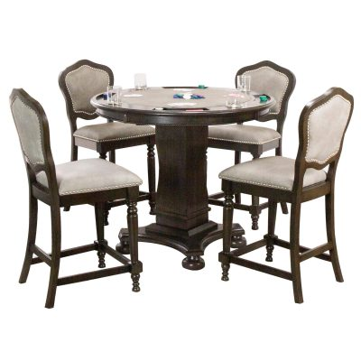 Vegas Collection Poker Table and chairs CR-87711-TCB-5PC