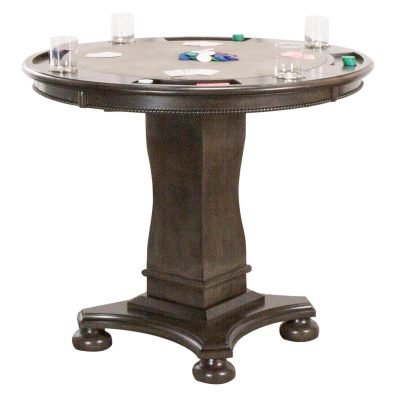 Vegas Collection Poker Table -full height CR-87711-TCB