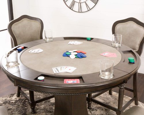 Vegas Collection Poker Table player view CR-87711-TCB