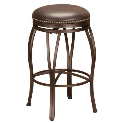 Victoria Dining Collection - Backless Swivel Barstool - front view - CR-J3005-30-RTA