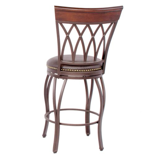 Victoria Dining Collection - Highback Swivel Barstool - back view - CR-J3009-24-RTA