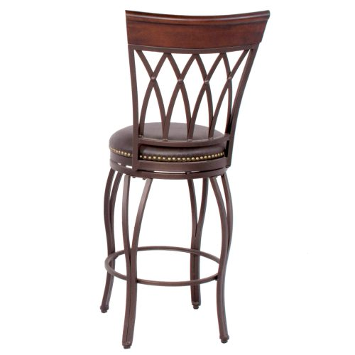 Victoria Dining Collection - Highback Swivel Barstool - back view - CR-J3009-30-RTA