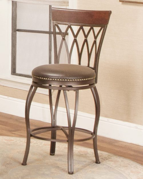 Victoria Dining Collection - Highback Swivel Barstool - room setting - CR-J3009-24-RTA