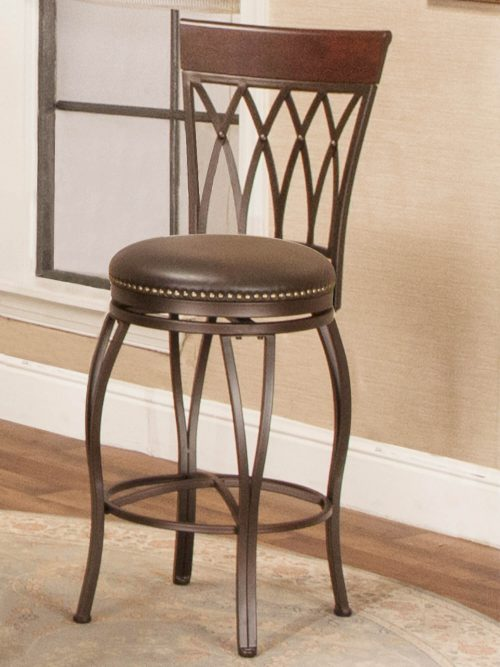 Victoria Dining Collection - Highback Swivel Barstool - room setting - CR-J3009-30-RTA