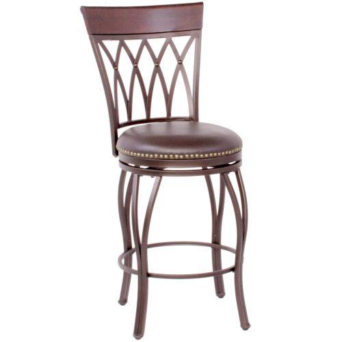 Victoria Dining Collection - Highback Swivel Barstool - three-quarter view - CR-J3009-30-RTA