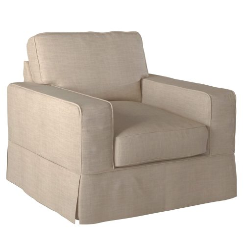 Americana Slipcovered Collection - Chair three-quarter view SU-108520-466082