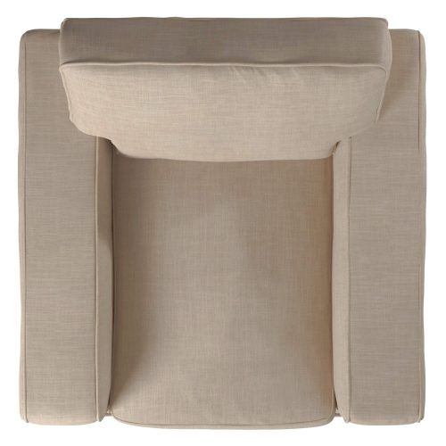 Americana Slipcovered Collection - Chair top view SU-108520-466082
