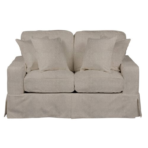 Americana Slipcovered Collection - Loveseat - front view SU-108510-220591