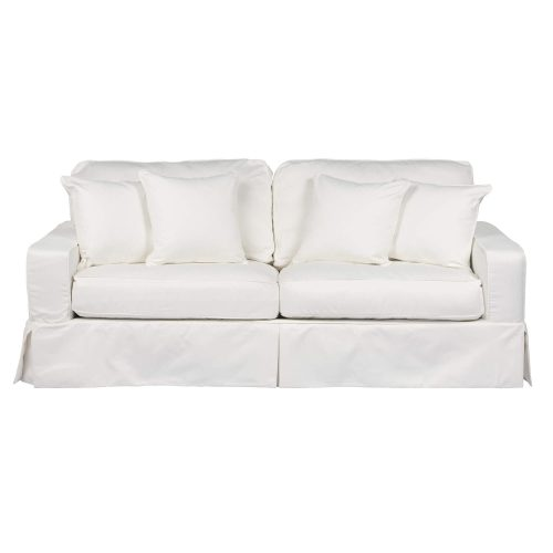 Americana Slipcovered Collection - Sofa - front view SU-108500-391081