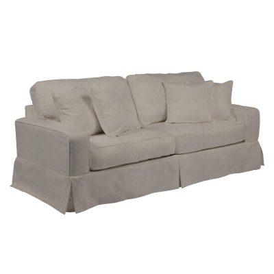 Americana Slipcovered Collection - Sofa - three-quarter view SU-108500-220591