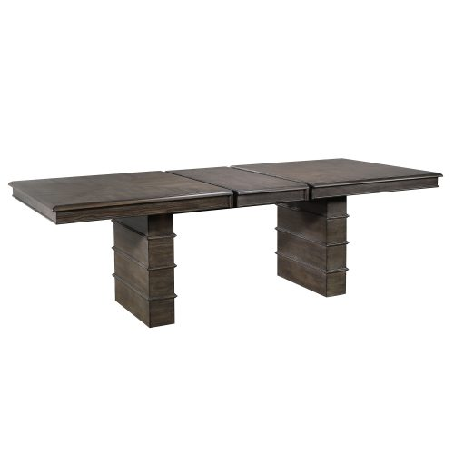 Cali Dining Collection - extendable dining table - three-quarter view DLU-CA113