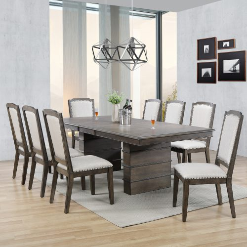 Cali Dining Collection - nine-piece dining set - dining room setting DLU-CA113-8C-9PC