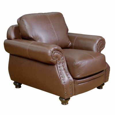 Charleston Chair in Chestnut. Angled view-SU-CR2130-86-100LF