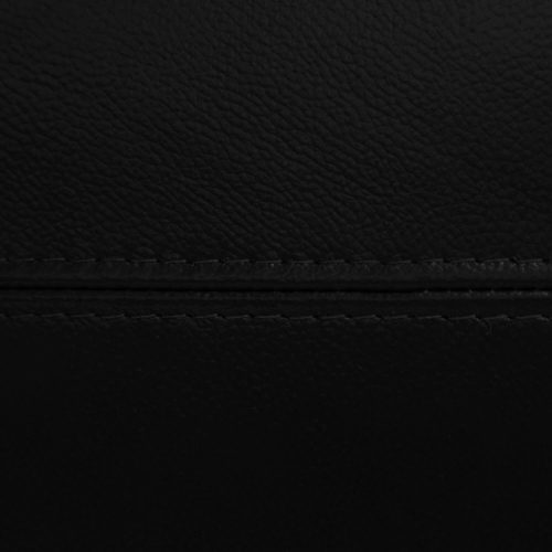 Charleston Collection in Black. Detail of stitching-SU-CR2130-80