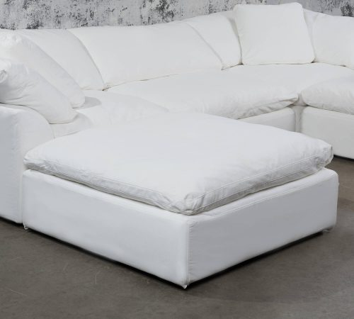 Cloud Puff Collection Square sectional modular ottoman - Room setting SU-145830-39108