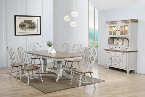 Country Grove Collection - Eight-piece dining set - dining room setting DLU-CG4296-124SGOBH8