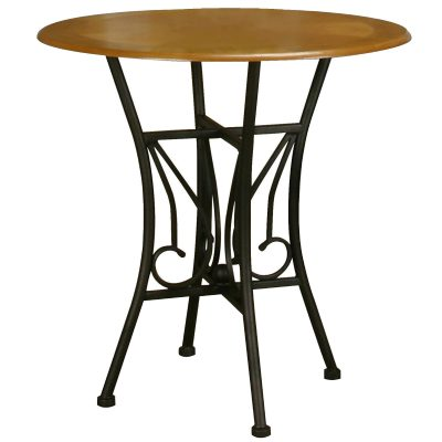 Dart Pub Table with espresso frame and light-oak top CR-Y2091-68