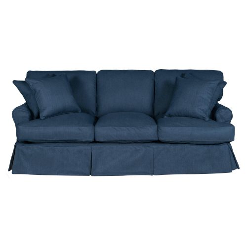 Horizon Slipcovered Collection - Padded Sofa - front view SU-117600-391049