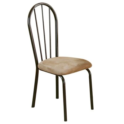 Linen Upholstered dining chair - right side CR-D8009-01-2