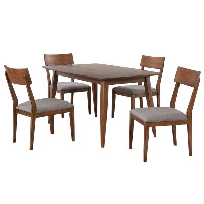 Mid-Century Dining Collection - five piece dining set - DLU-MC3660-C45-5P