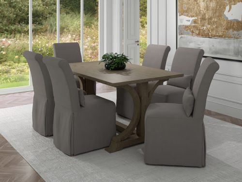 Newport Slipcovered Collection - Dining Chair - dining room setting SY-1025906-391094