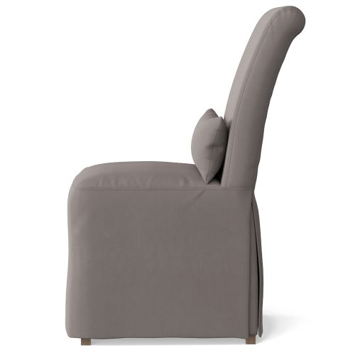 Newport Slipcovered Collection - Dining Chair - side view SY-1025906-391094