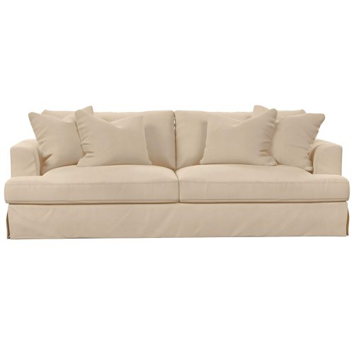 Newport Slipcovered Collection - Sofa - front view SY-130000-391084