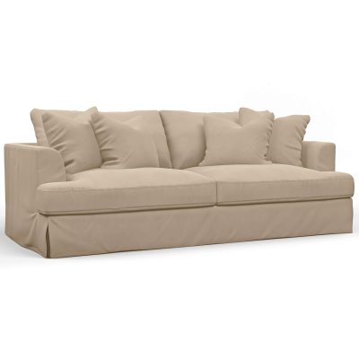 Newport Slipcovered Collection - Sofa - three-quarter view SY-130000-391084