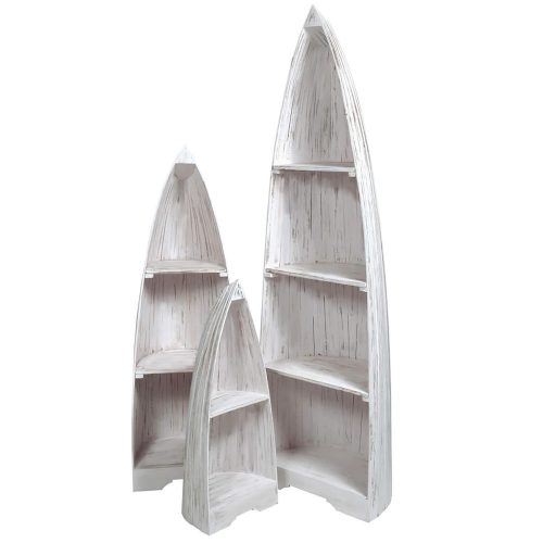 Shabby Chic Collection - 3-piece boat shelves - grouped CC-CAB1920LD-WW