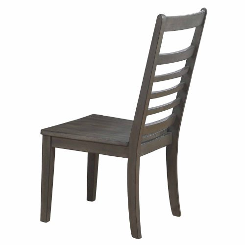 Shades of Gray - Large Dining Chair - back view DLU-EL-C100-2