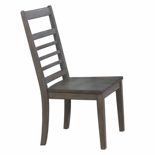 Shades of Gray - Large Dining Chair - side view DLU-EL-C100-2